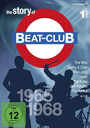 The Story of Beat-Club: 1965 - 1968 (Vol. 1) [8 DVDs]