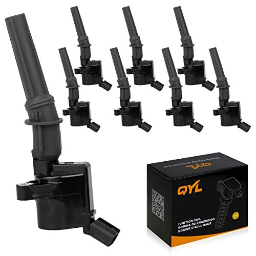 8Pcs Ignition Coil Pack Fits Ford F150 F250 F350 Lincoln Mercury 4.6L 5.4L V8 DG508 C1454 FD503