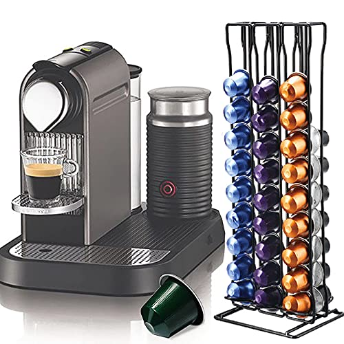 Dispensador de cápsulas de café Nespresso con soporte para 60 tarros