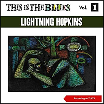 This Is the Blues., Vol. 1 (Recordings of 1953)