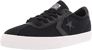 Converse Womens Breakpoint Low Top Sneaker (6, Black/White) US
