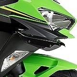 Juego Alerones Downforce para Kawasaki Ninja 400 18-20 Negro Puig 3172n