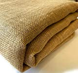 5 Yard Fold Burlap Premium Natural Vintage Jute Fabric 40 Inches Wide Upholstery