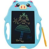 QISHI YUHUA LCD Writing Tablet 9 Inch,Colorful Doodle Board Drawing Board, Birthday Present for 2-6...