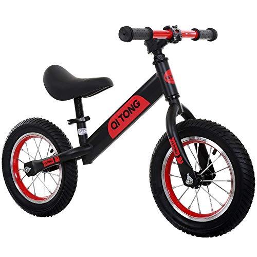 Chenbz Children Balance Bikes Boys Girls 12' Balance Bike No Pedal Air Tires Anti-slip Handlebar Adjustable Seat Kids And Toddlers Push And Stride Walking Bicycle Sport Training Balancing Bikes For Ch
