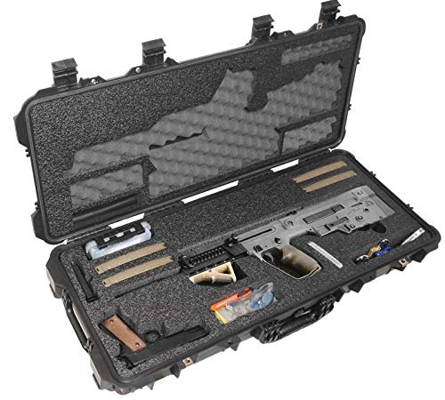 Case Club IWI Tavor Pre-Cut Waterproof Rifle Case with Accessory Box & Silica Gel to Help Prevent Gun Rust (Gen 2)