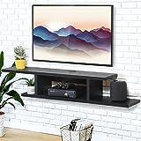 FITUEYES Console Multimédia Murale Etagère pour Composant Rangement TV pour DVD CD...