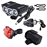 Nestling® Mountain Cycle Bicycle Light, Bike Front Lamp Torch, Headlamp Headlight Flashlight Waterproof
