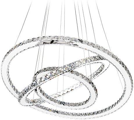 Circle crystal chandelier _image1