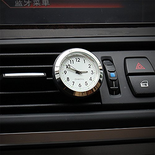 Txian Quarz Auto Uhr Air Vent Oldtimer Analog Quarzuhr (38x38x17mm)