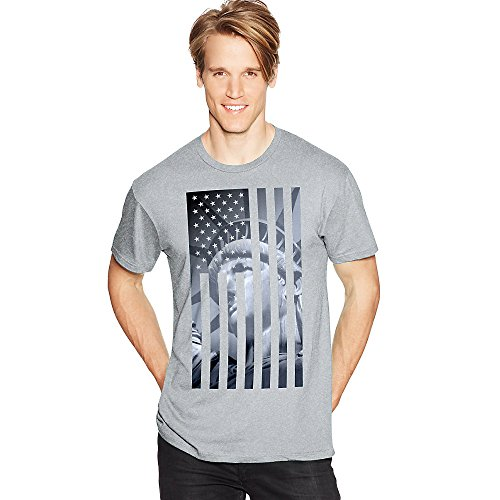 Hanes Men's Graphic Tee - Americana Collection, Liberty Flag, 3X-Large