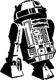 PixieBitz Plantilla Cool R2D2 de 12 x 8 Pulgadas, Mylar A 190Mu, aerografía, Manualidades, Droid, Robot, Star Wars