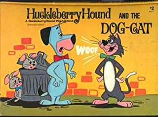 Huckleberry Hound and the Dog Cat Pop Up