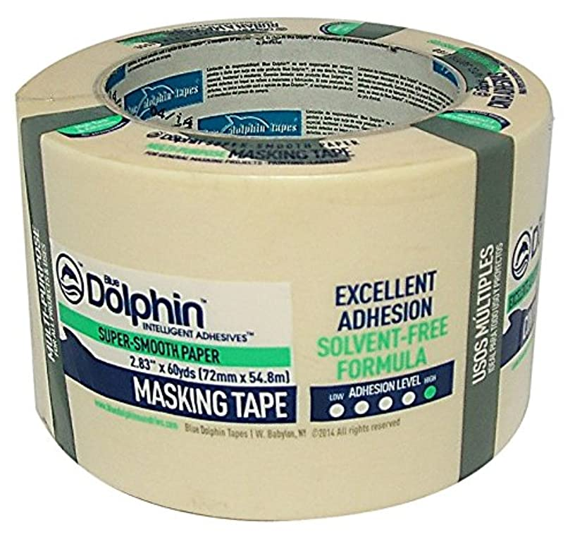 Blue Dolphin Tp Mask G 3'' General Masking Tape, 3