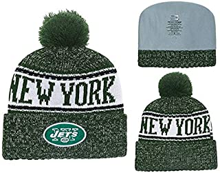 Aleys Fans Hats Winter Knit Cuffed Beanie Sports Hats Fashion Toque Cap for Gift