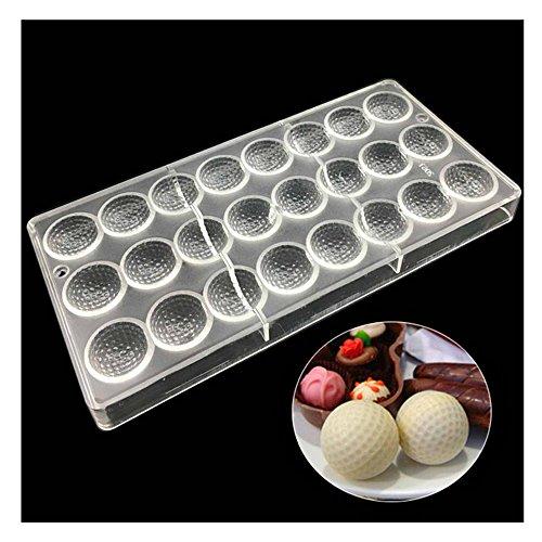 Pelota de golf con forma de DIY Chocolate molde para gelatina ...