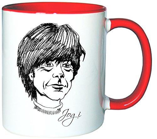 Mister Merchandise Kaffeetasse Becher Joachim Jogi Löw Teetasse
