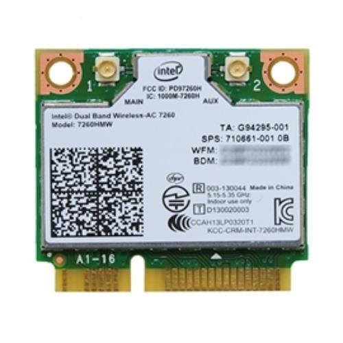 インテル Intel Dual Band Wireless-AC 7260 + Bluetooth 7260HMW 2x2 対応 Wi-Fi + Bluetooth 4.0 アダプター