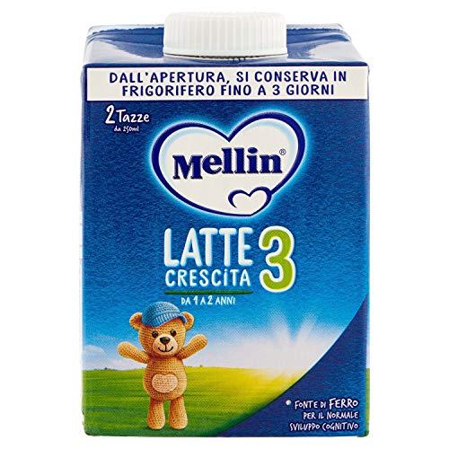 Mellin Latte Liquido Mellin, 3 x 500ml