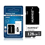 128GB Micro Card with Adapter (Class 10 High Speed) Memory Cards for Camera, TF Memory Card for Phone Computer Game Console, Dash Cam, GPS, Surveillance, Drone