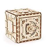 Ydq Kit de Seguridad de Modelo de, Rompecabezas de Madera 3D, Caja Fuerte mecánica para Bricolaje
