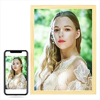Wow! Gepersonaliseerde foto, schilderen op nummer voor portret bruiloft familie huisdier foto's Aangepaste digitale schild...