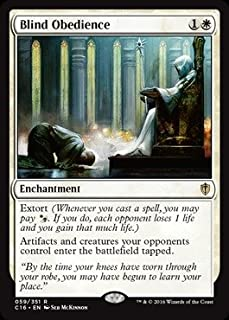 Magic: the Gathering - Blind Obedience (059/351) - Commander 2016