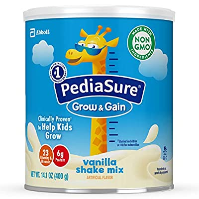 PediaSure Grow & Gain Non-GMO Chocolate Shake Mix Powder