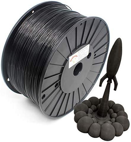 Reprapper Black PLA Filament for 3D Printer 3D Pen 1 75mm 0 03mm 6 6lb 3kg product image