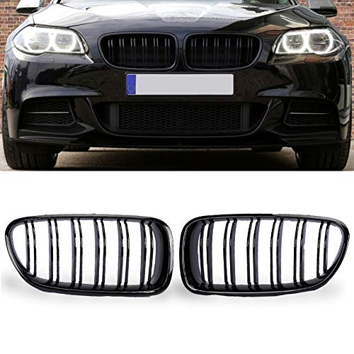 PENSUN Gloss Black Front Grille Grill Kidney For BMW 5 Series F10 F11 M5