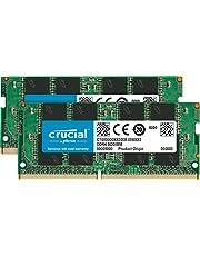 Crucial CT2K16G4SFD8266 Kit Memoria RAM de 32GB (16GB x2) (DDR4, 2666 MT/s, SODIMM, 260-Pin)