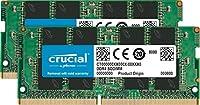 Crucial CT2K4G4SFS6266 8GB Kit DDR4 2666 MT/s 4GBx2 SODIMM 260pin SR x16 CL19