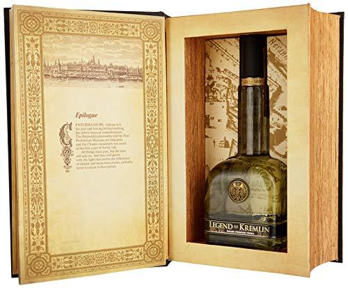 Legend of Kremlin Russian Wodka De Luxe mit Geschenkverpackung (1 x 0.7 l)