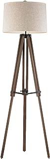 Diamond Lighting D2817 Floor lamp, Oil Rubbed Bronze, Walnut