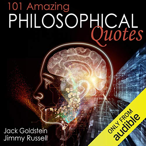 101 Amazing Philosophical Quotes audiobook cover art