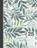 Schulheft/Schreibheft A4 Lineatur 25 liniert mit Rand - 48 blatt