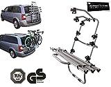 Fahrradträger Heckklappe 3 Fahrräder/Bici Ok Van 3 - Inkl. Adapter + ELEMENT TRADE Sticker