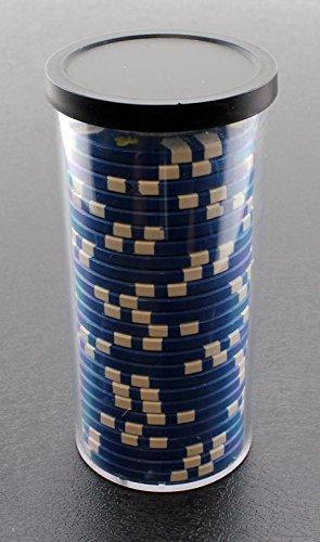 Versa Games 25pc Poker Chip Storage Tube - 4 Piece Set
