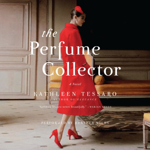 The Perfume Collector     A Novel              By:                                                                                                                                 Kathleen Tessaro                               Narrated by:                                                                                                                                 Heather Wilds                      Length: 12 hrs and 6 mins     1,952 ratings     Overall 4.4
