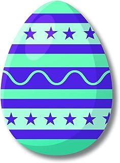 Bhai Please Easter Egg (Blue) Wooden Fridge Magnet (Pack of 1) Easter , Good Friday Gift and Decoration