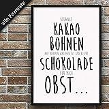 Papierschmiede Spruch-Poster | Stilvollle Wanddeko für den