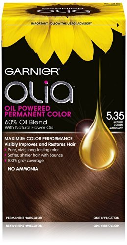 garnier hair dye olia - 5