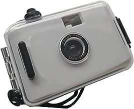 Outdoor Action Camera Waterproof Lomo Camera Mini 35Mm Film for Underwater Fishing,White