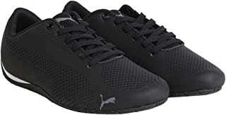 Puma Men's DriftCat5UltraPumaBlack-QUIETSHADE Black Sneakers-4 UK/India (37 EU) (4057826472241)
