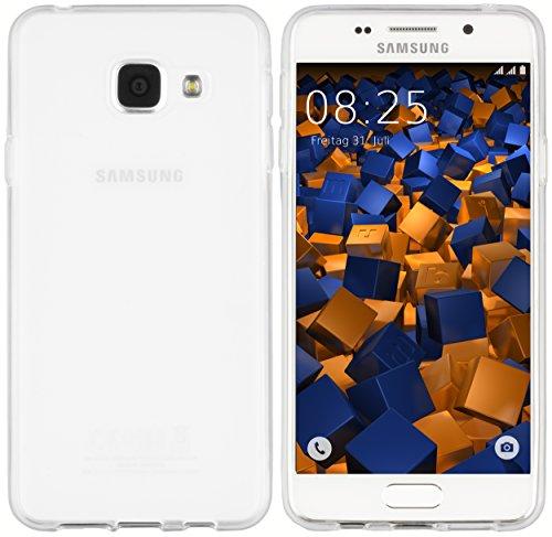 mumbi Hülle kompatibel mit Samsung Galaxy A3 2016 Handy Case Handyhülle, transparent Weiss