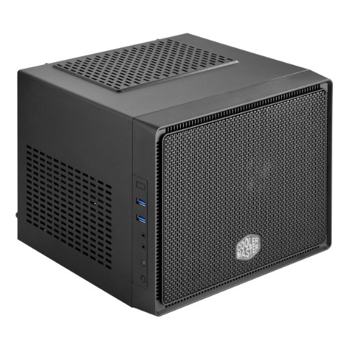 Cooler Master Elite 110 RC-110-KKN2-AMZ Cube Style Mini-ITX Computer Case with Standard Size ATX PSU and 120mm Radiator Support