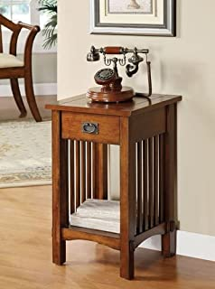 Best oak telephone table with drawer Reviews