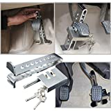 Anti-Theft Auto Stainless Steel Clutch Lock Vehicle Security Protection Supplies Car Brake Lock