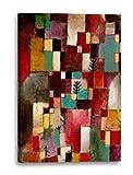 Printed Paintings Leinwand (60x80cm): Paul Klee - Rotgrüne