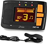 Donner Rechargeable Metronome Tuner, 3 in 1 Digital Metronome Tuner/Metronome/Tone Generator for Guitar